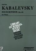 Ok�adka: Kabalewski Dymitr, 4 Ronda, op. 60 (Vaap Edition)