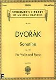 Ok�adka: Dvo��k Antonin, Sonatina, op. 100