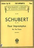 Okładka: Schubert Franz, Four Impromptus, Op. 142