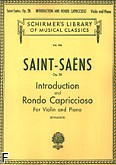 Okładka: Saint-Saëns Camille, Introduction And Rondo Capriccioso, Op. 28
