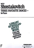 Ok�adka: Szostakowicz Dymitr, 3 Fantastic Dances, Op. 5