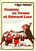 Ok�adka: Thomson Virgil, Cantata On Poems Of Edward Lear