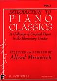 Ok�adka: , Introduction to Piano Classics, Vol. 1