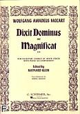 Okładka: Mozart Wolfgang Amadeusz, Dixit Dominus And Magnificat, K.193