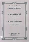 Okładka: Bach Carl Philipp Emmanuel, Magnificat