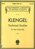 Okładka: Klengel Paul, Technical Studies For the Violoncello Vol. 1