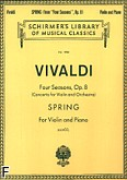 Ok�adka: Vivaldi Antonio, Four Seasons, Op. 8 - Spring