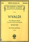 Okładka: Vivaldi Antonio, Four Season, Op.8 - Winter