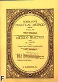 Okładka: Hohmann Christian Heinrich, Praktyczna szkoła na skrzypce, z. 1