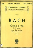Ok�adka: Bach Johann Sebastian, Concerto In A minor For the Violin