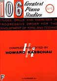 Ok�adka: Kasschau Howard, 106 Greatest Piano Etudes, Drills And Exercises - Volume 1