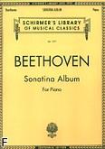 Okładka: Beethoven Ludwig van, Album sonatin