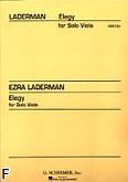 Okładka: Laderman Ezra, Elegia na altówkę solo