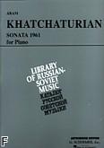 Okładka: Chaczaturian Aram, Sonata (1961)