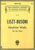 Okładka: Liszt Franz, Mephisto Waltz