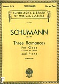 Ok�adka: Schumann Robert, Three Romances, Op. 94