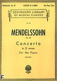 Ok�adka: Mendelssohn-Bartholdy Feliks, Koncert fortepianowy nr 2, d-moll, op. 40