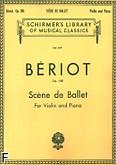 Okładka: Beriot Charles-Auguste de, Scene De Ballet, op. 100