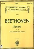 Okładka: Beethoven Ludwig van, Sonata F-dur, op. 24