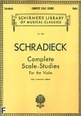 Okładka: Schradieck Henry, Studium gam (edycja autoryzowana)