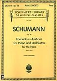 Ok�adka: Schumann Robert, Koncert fortepianowy a-moll, op. 54, (solo)