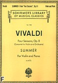 Okładka: Vivaldi Antonio, Four season, Op. 8 - Summer