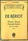 Okładka: Beriot Charles-Auguste de, 3 duety koncertujące, op. 57