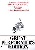 Okładka: Strauss Franz, Koncert, op. 8 na róg i fortepian
