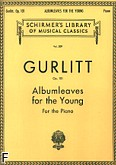 Okładka: Gurlitt Cornelius, Albumleaves for the young