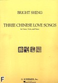 Okładka: Sheng Bright, 3 chińskie pieśni miłosne