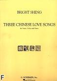 Ok�adka: Sheng Bright, 3 chi�skie pie�ni mi�osne