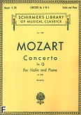 Ok�adka: Mozart Wolfgang Amadeusz, Koncert skrzypcowy nr 3, G-dur, K.216