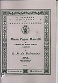 Ok�adka: Palestrina Giovanni Pierluigi da, Missa Papae Marcelli