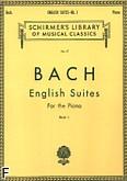 Okładka: Bach Johann Sebastian, Suity angielskie