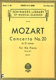 Ok�adka: Mozart Wolfgang Amadeusz, Concerto No. 20 In D minor For the Piano, K. 466