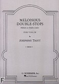 Ok�adka: Trott Josephine, Melodious Double - Stops, Vol. 2