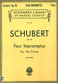 Ok�adka: Schubert Franz, Four Impromptus, op. 90 For the Piano