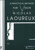 Okładka: Laoureux Nicolas, A Practical Method For Violin Part 1