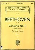 Okładka: Beethoven Ludwig van, Koncert fortepianowy nr 2, B-dur, op. 19