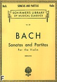Okładka: Bach Johann Sebastian, Sonaty i partity (Violin)