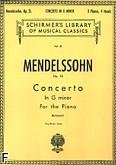 Okładka: Mendelssohn-Bartholdy Feliks, Koncert fortepianowy nr 1, g-moll, op. 25