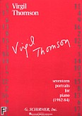 Okładka: Thomson Virgil, 17 Portraits (1982-84)