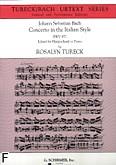 Okładka: Bach Johann Sebastian, Concerto in the Italian Style BWV 971 (urtext series)