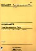 Ok�adka: Boulanger Lili, 3 Morceaux