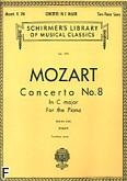 Okładka: Mozart Wolfgang Amadeusz, Koncert fortepianowy nr 8, C-dur, K.246