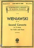 Ok�adka: Wieniawski Henryk, Koncert skrzypcowy nr 2, d-moll, op. 22