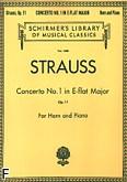 Ok�adka: Strauss Ryszard, Koncert nr 1 Es-dur, op. 11