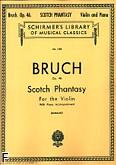 Okładka: Bruch Max, Fantazja szkocka, op. 46