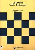 Okładka: Ricci Ruggiero, Szkoła na skrzypce - technika lewej ręki
