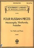 Okładka: Milstein Nathan, 4 utwory rosyjskie